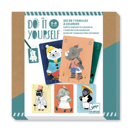 DJECO DIY - 7 Familles à colorier