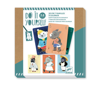 DIY - 7 Familles à colorier