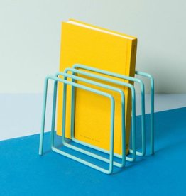Block Magazine Rack
