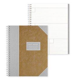Bison Bookbinding Imperial Date Book: Cumin