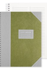 Bison Bookbinding Imperial List Book: Checklist
