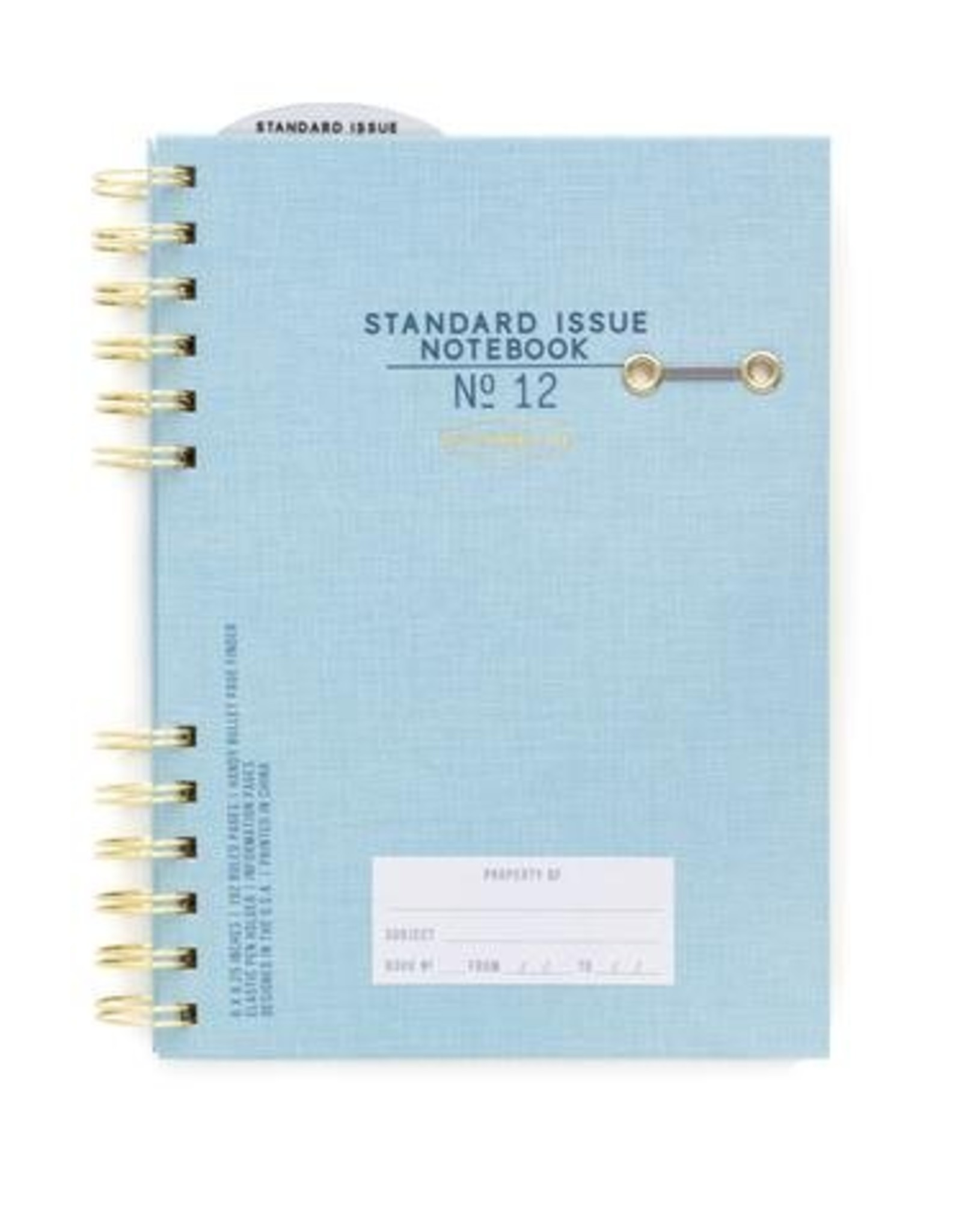 Designworks Ink Standard Issue Planner Notebook No. 12