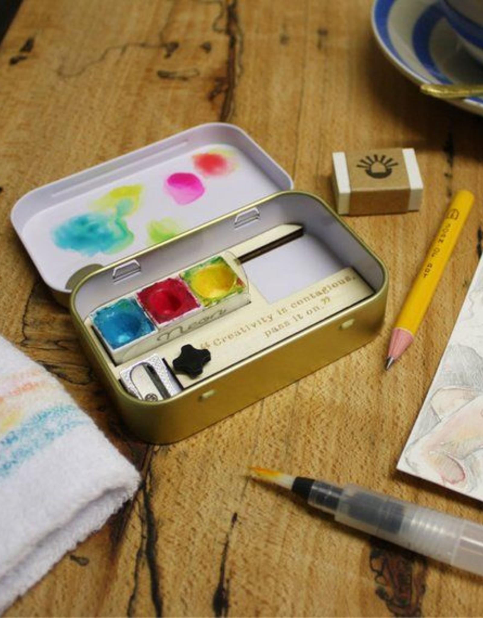 Joan Of Art Creations Sketching Tin