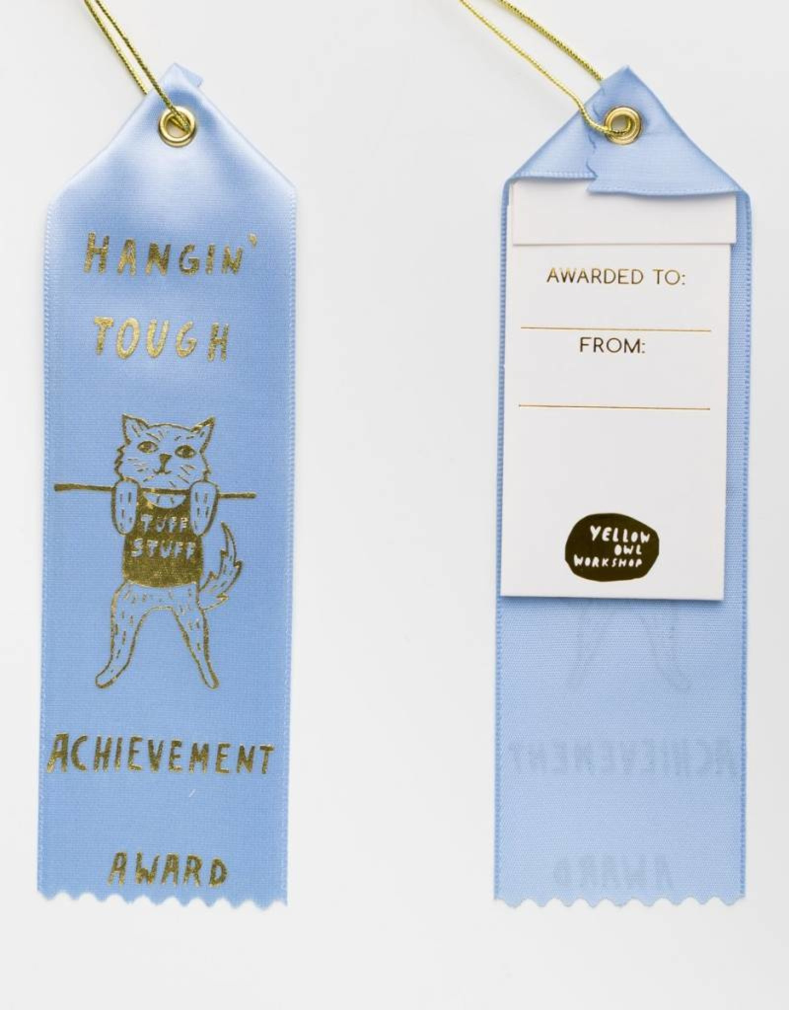 Yellow Owl Workshop Yellow Owl Workshop Award Ribbon Note