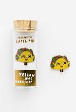 Yellow Owl Workshop Yellow Owl Workshop Magnetic Lapel Pin