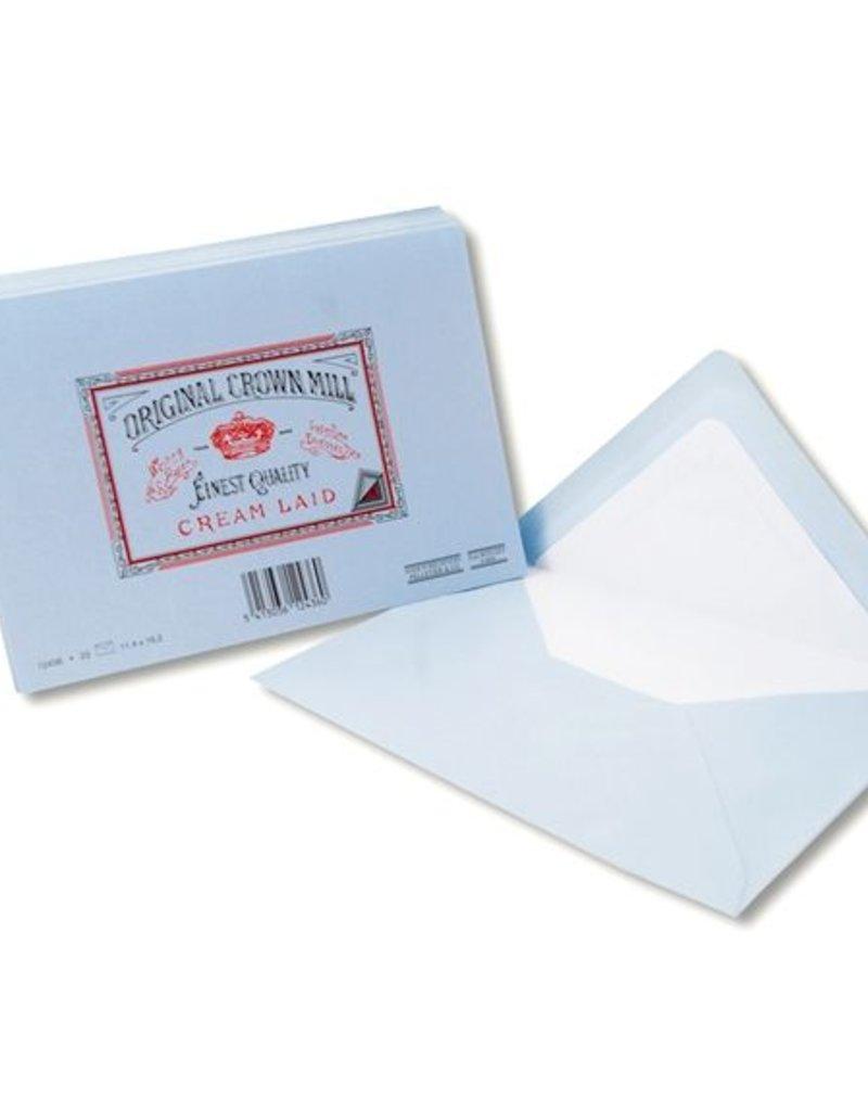 Original Crown Mill Classic Envelope A5 4.5 x 6.25