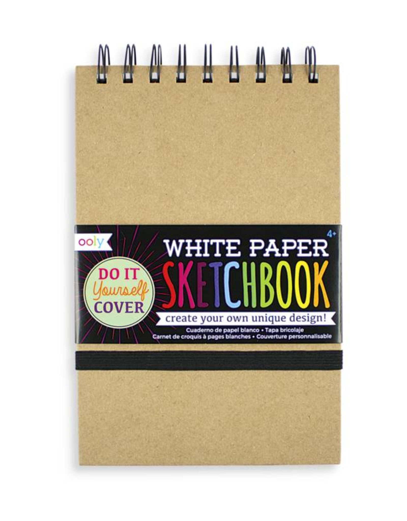Ooly DIY Sketchbook - White Paper 5 x 7.5