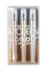 Ooly Modern Script Fountain Pens & Journal