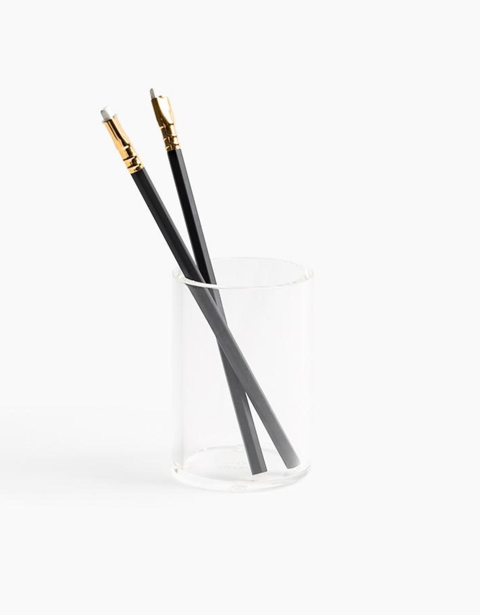 Poketo Poketo Lucite Pen Cup