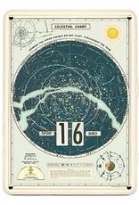 Cavallini Celestial Chart Perpetual Calendar