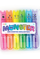 Ooly Mini Monsters Scented Highlighters