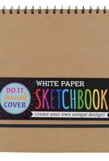 Ooly DIY Sketchbook - White Paper 8 x 10.5