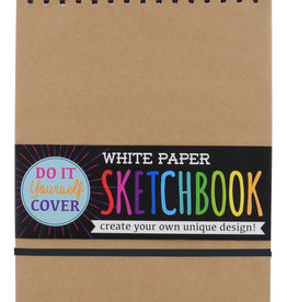 Ooly DIY Sketchbook - White Paper 8 x 10.5