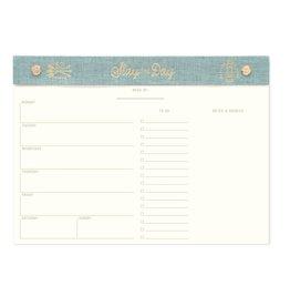 Designworks Ink Weekly Planner Desk Pad