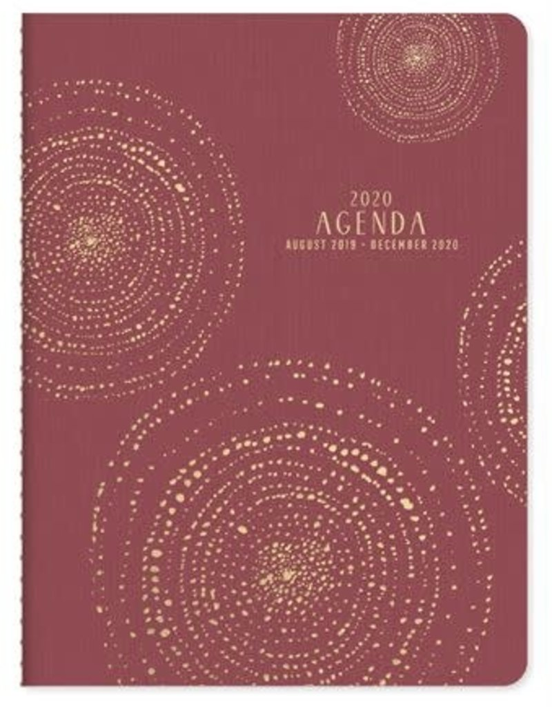 Designworks Ink Bookcloth Flex Monthly Planner 2020