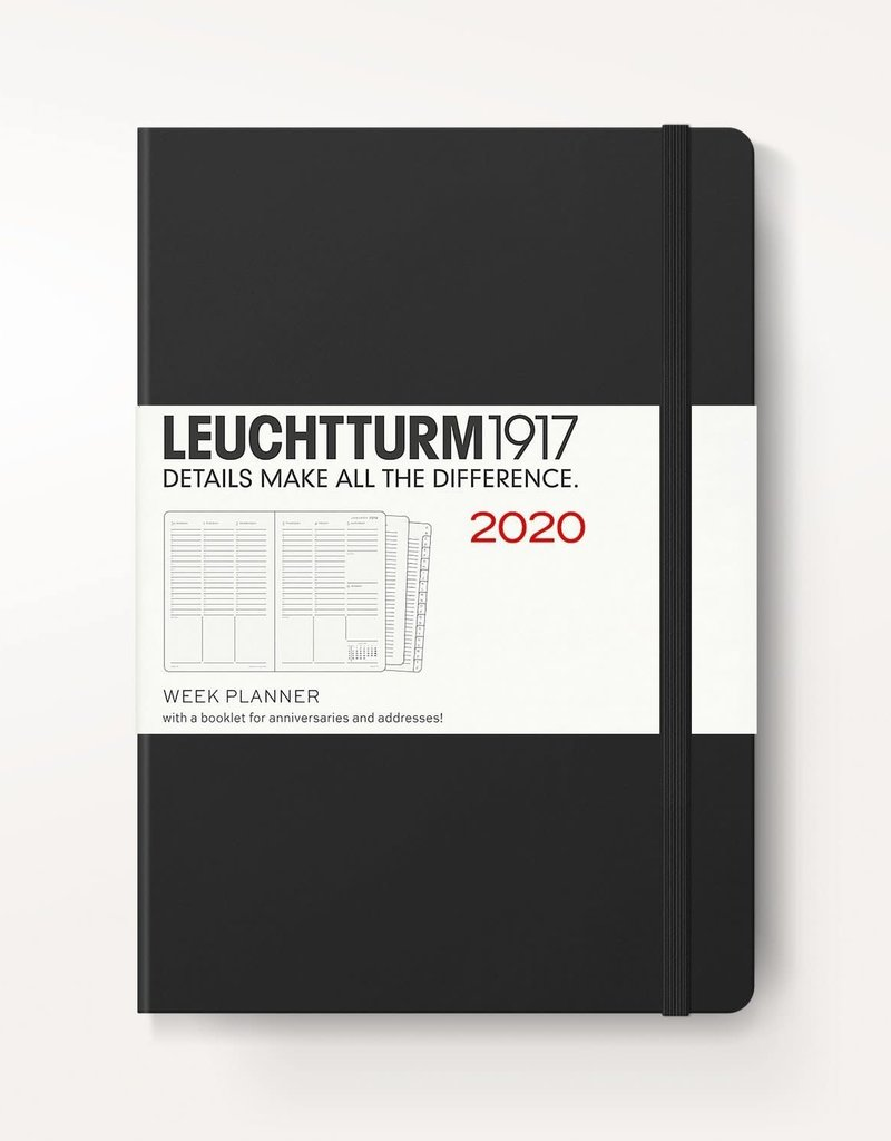 Leuchtturm 1917 Leuchtturm 1917 2020 Weekly Planner & Notebook 12 mo