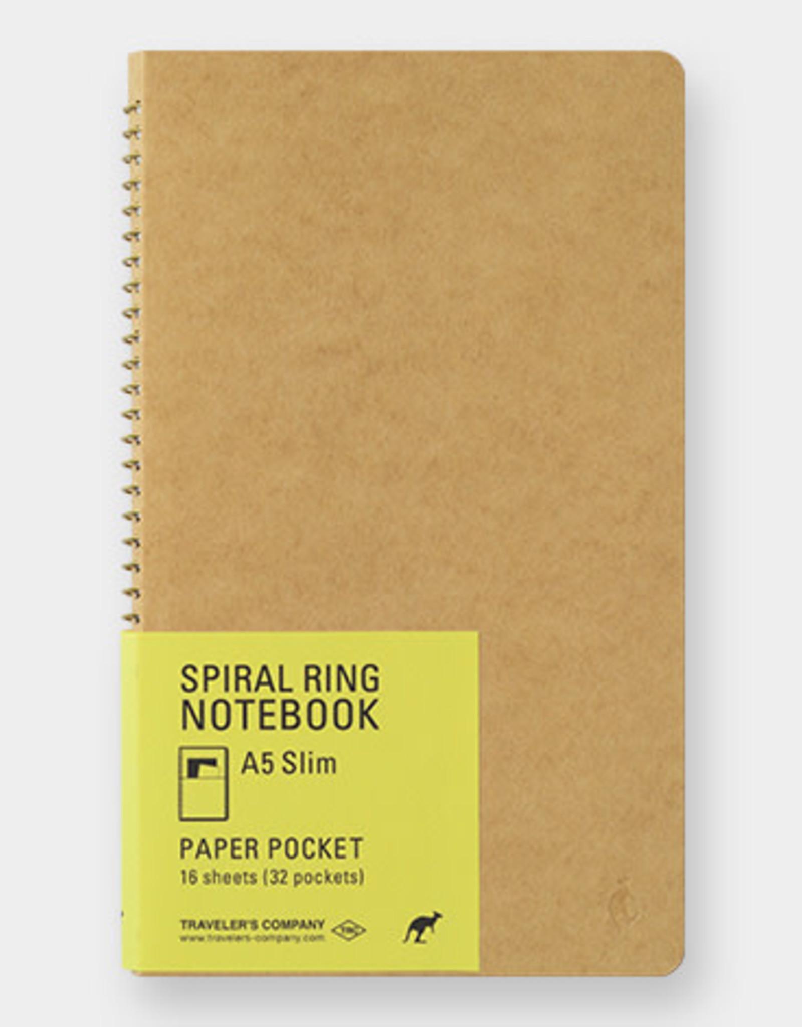 Traveler's Company Traveler's Company Spiral Ring Notebook