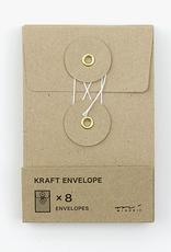 Traveler's Company Traveler's Company Kraft Envelopes