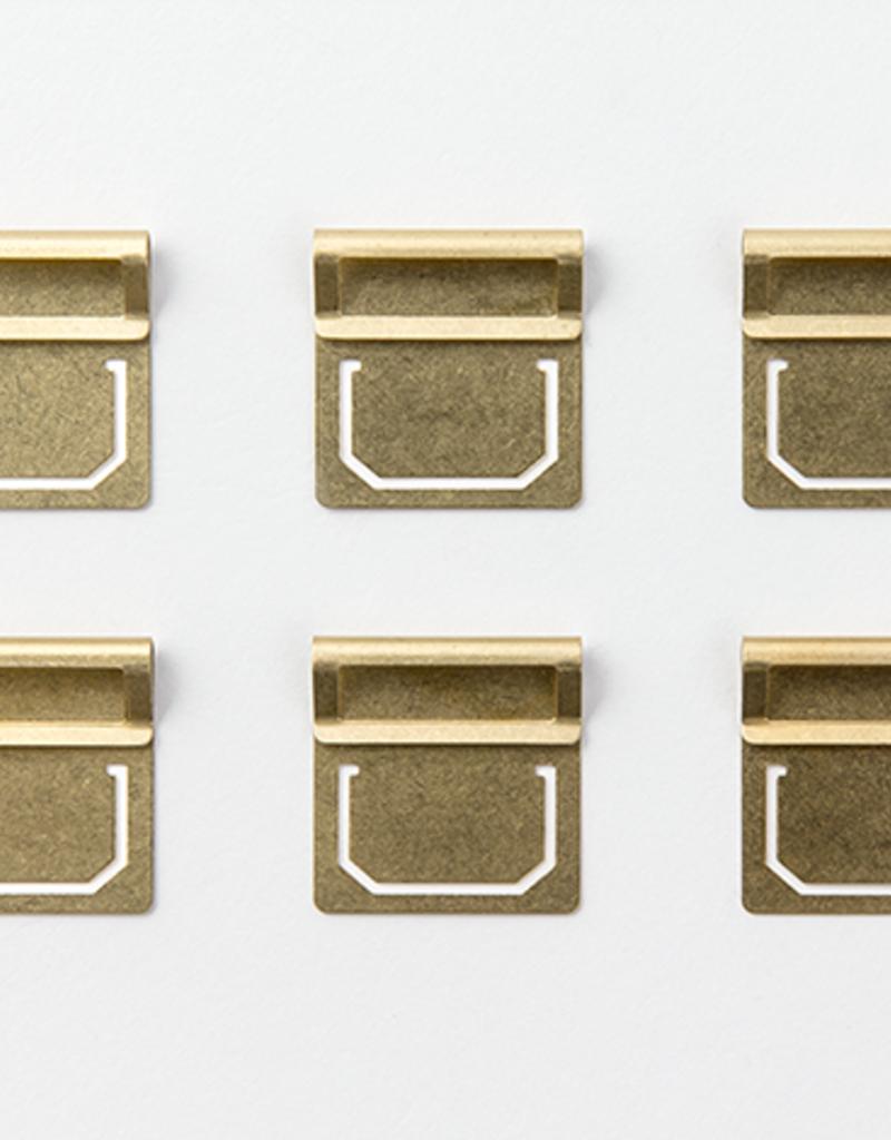 Traveler's Company Traveler's Company Brass Clips