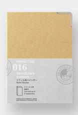 Traveler's Company Traveler's Company Binder For Passport Refills