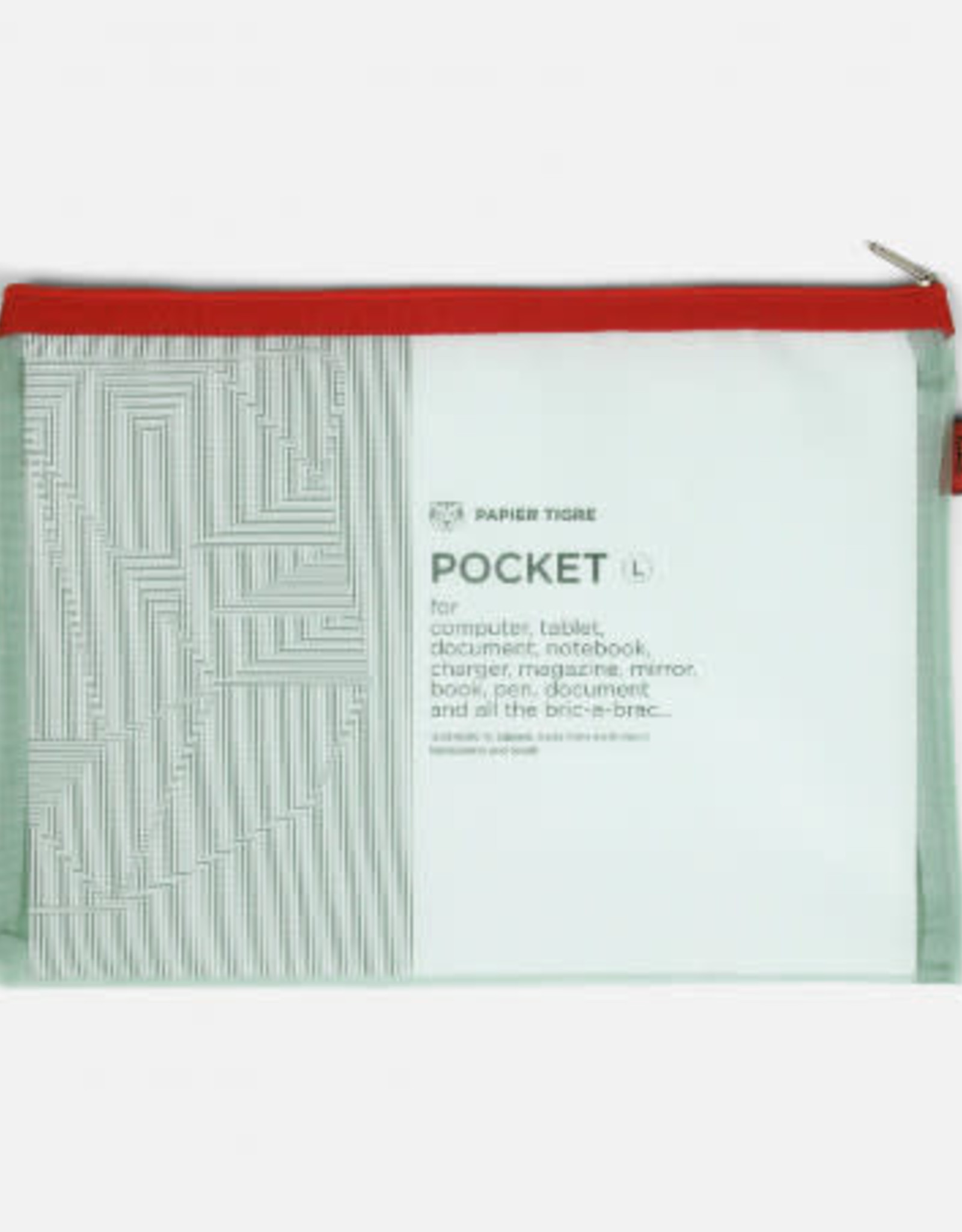 Papier Tigre Papier Tigre Large Mesh Pocket