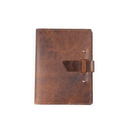Rustico Switchback Leather Notebook