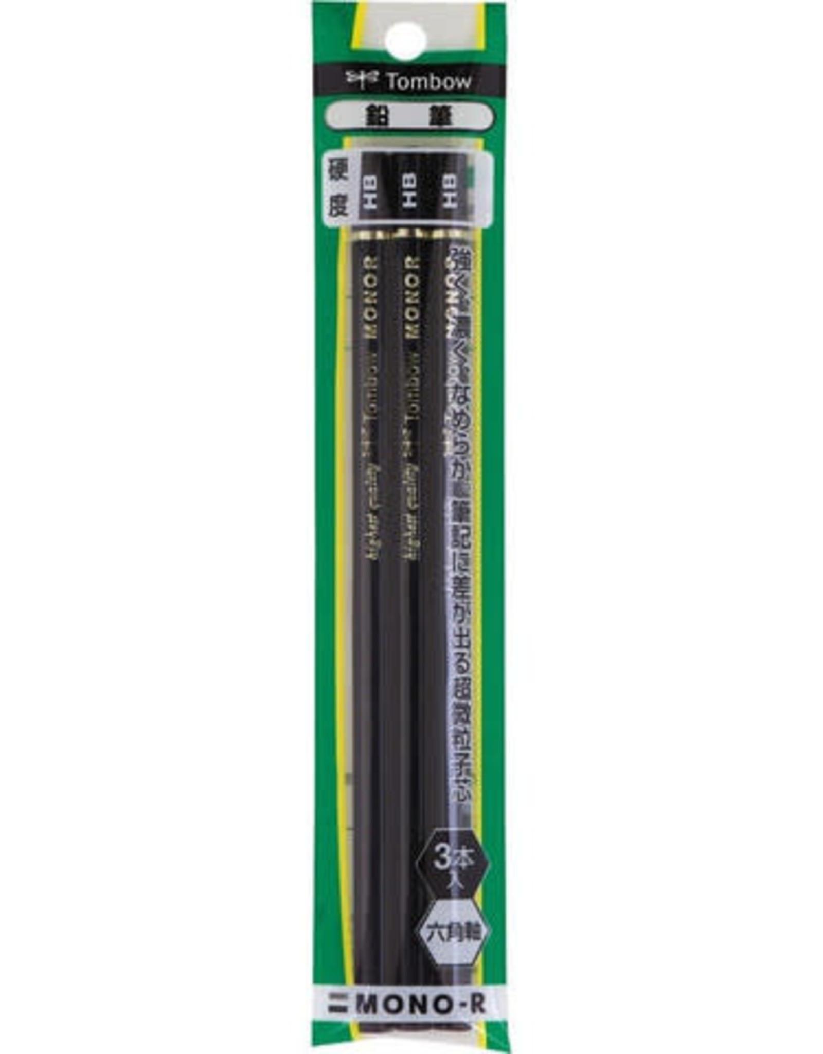 Tombow Mono HB Pencil 3 pcs
