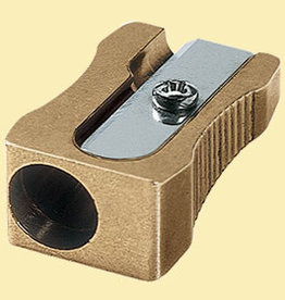 M+R Brass Pencil Sharpener