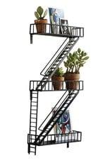Design Ideas Fire Escape Wall Shelf