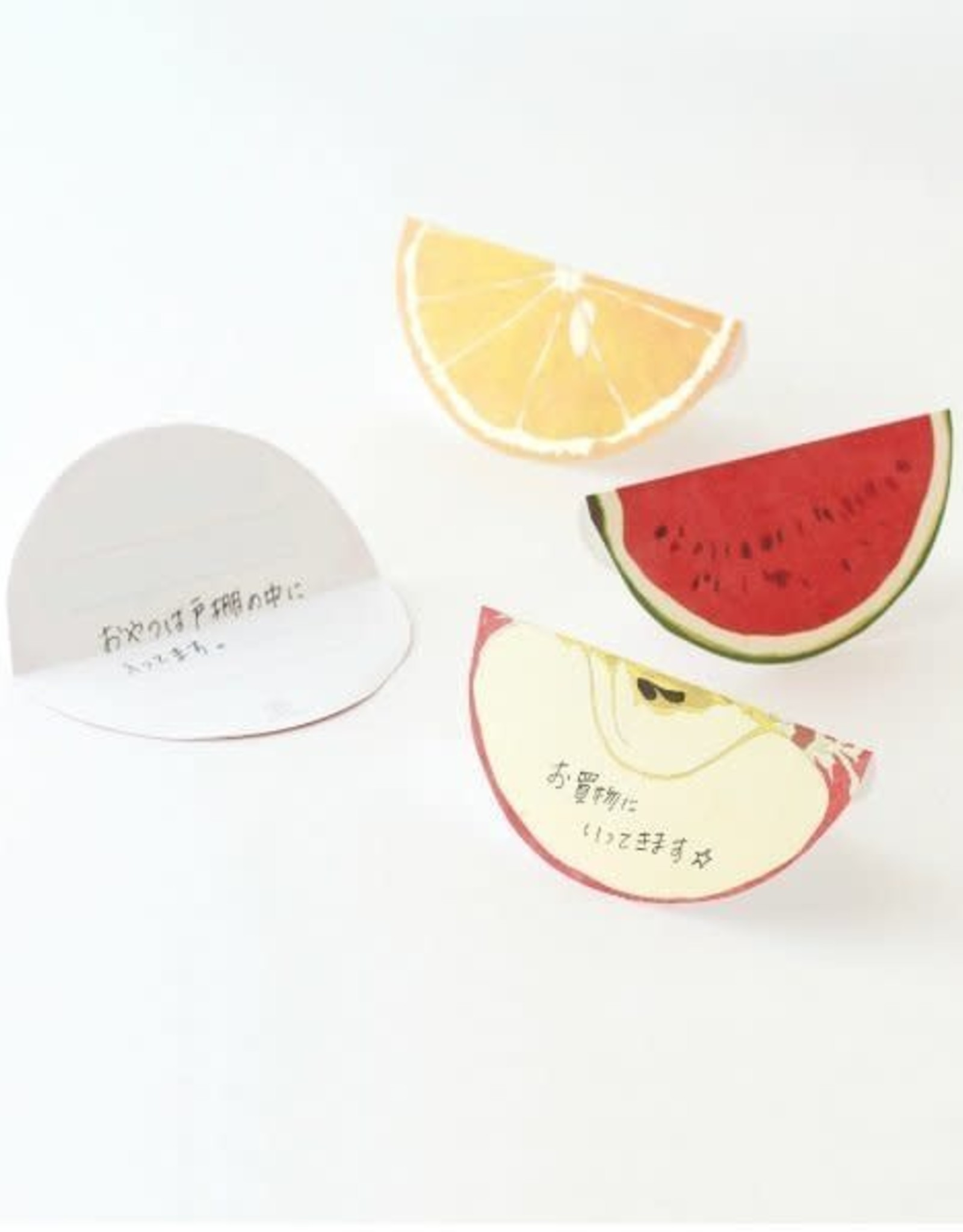 Paperable Paperable Fruits Memo Block