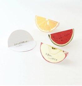 Paperable Paperable Fruits Memo Block