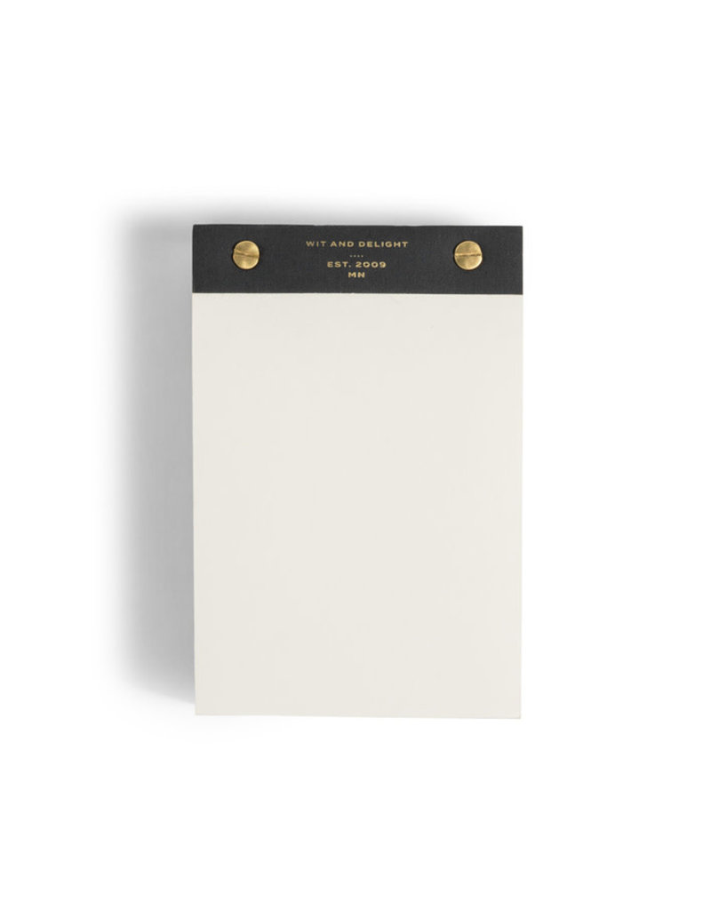 Wit & Delight Desktop Notepad