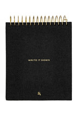 Wit & Delight Linen Write It Down Notepad