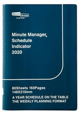 Hightide Hightide 2020 Planner Minute Manager