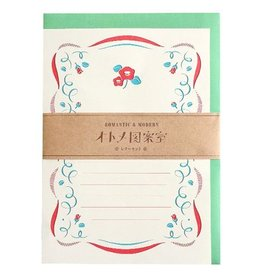Green Flash Otome Design Room Letter Set
