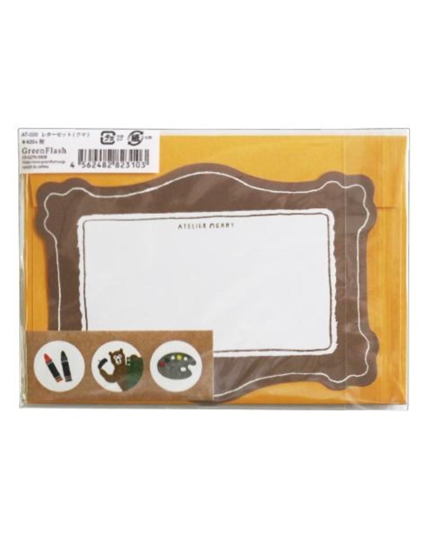 Green Flash Atelier Merry Letter Set