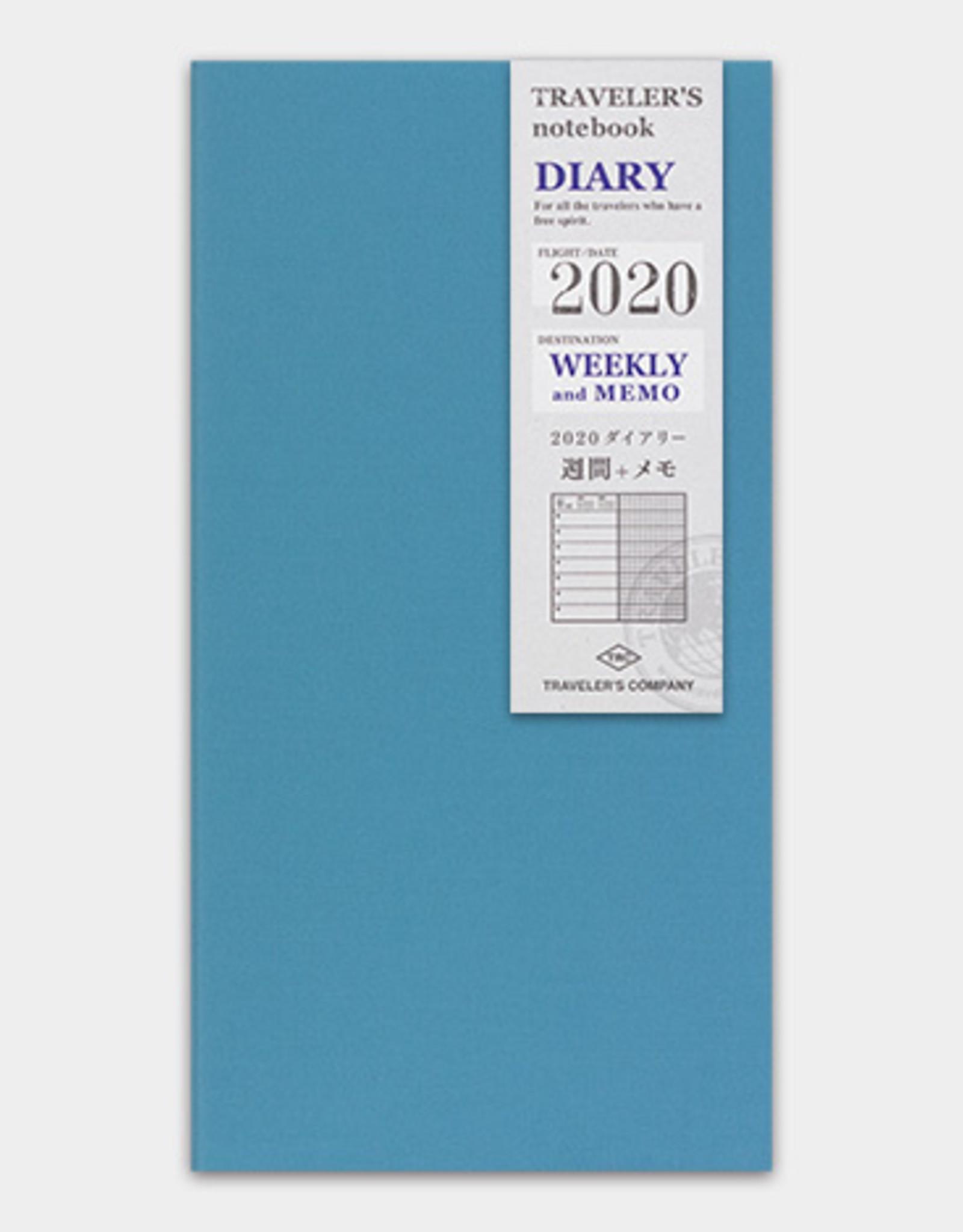 Traveler's Company Traveler's Company Notebook 2020 2nd Half