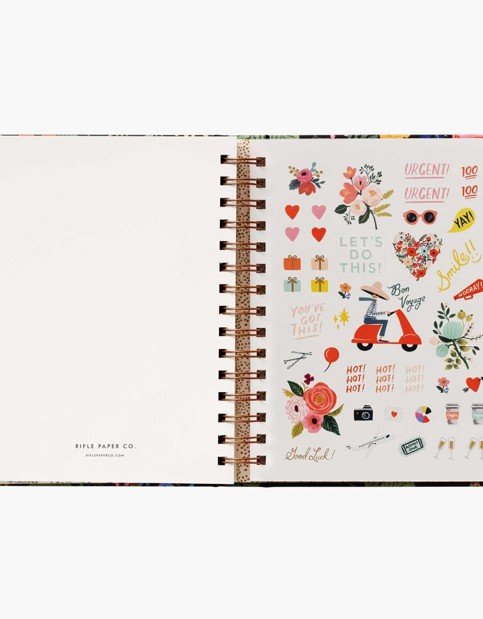 Rifle Paper Co. Rifle Paper 2021 17 mo Covered Planner