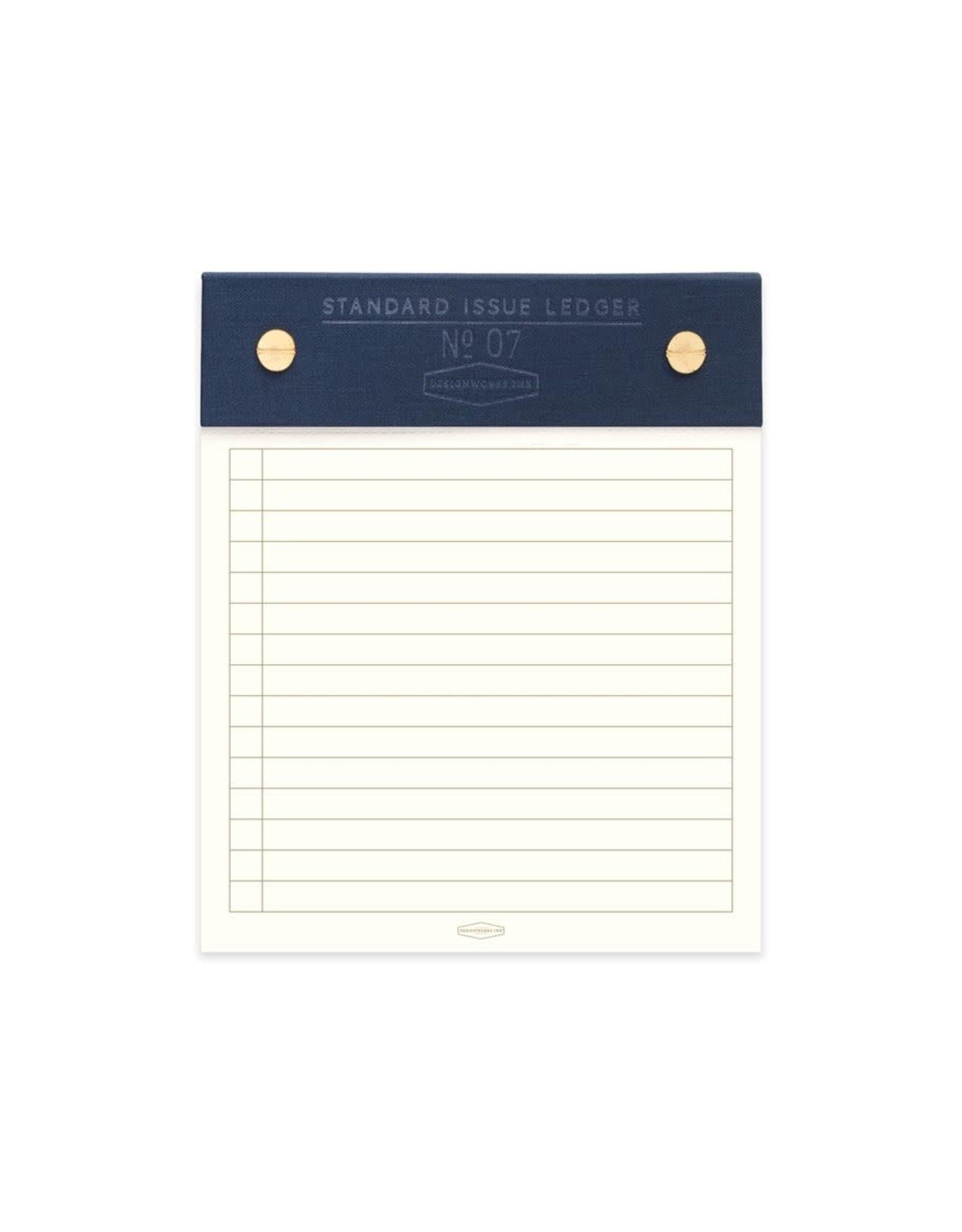 Designworks Ink Standard Issue Post Bound Note Pad No. 7