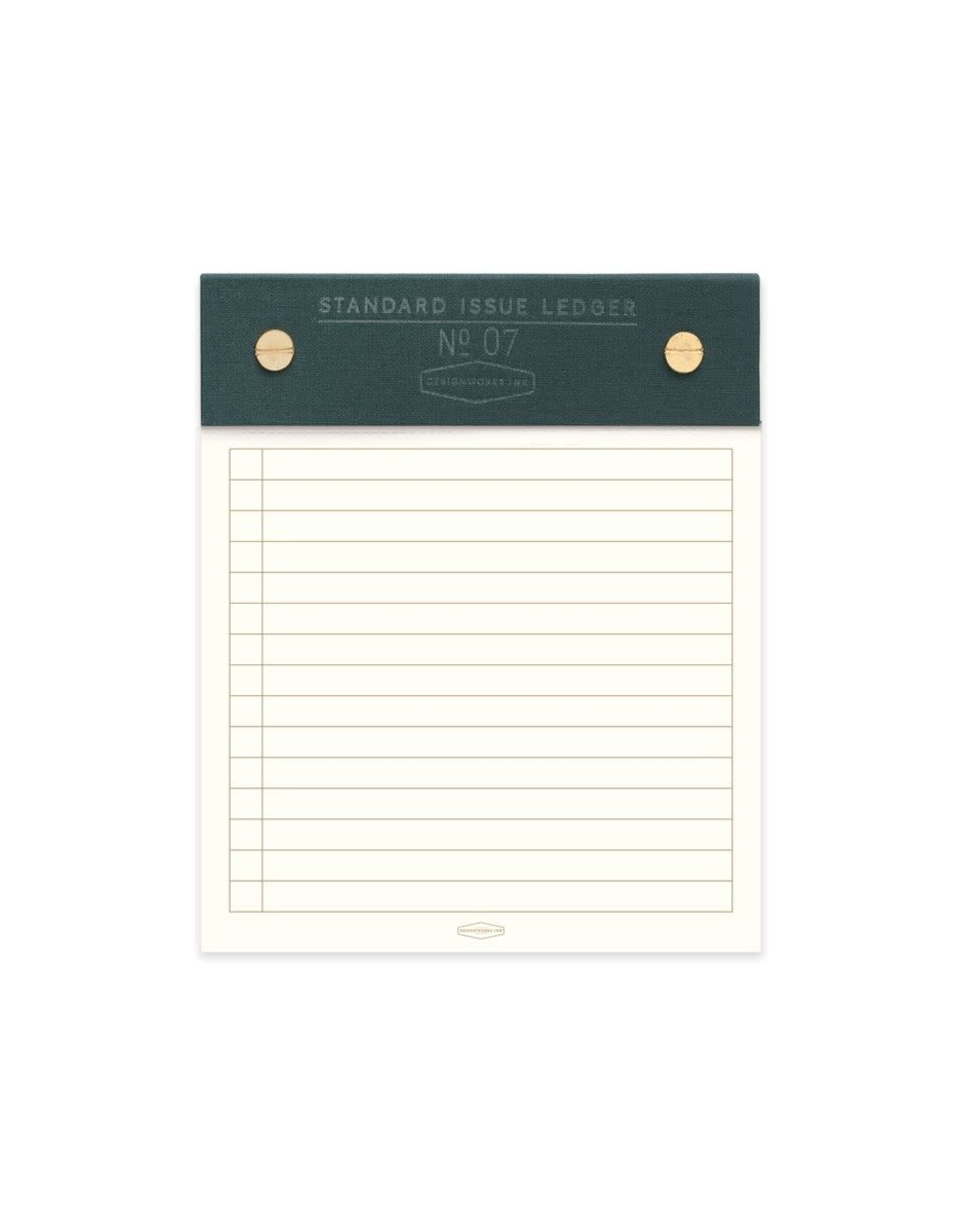 Designworks Ink Standard Issue Post Bound Note Pad No. 7