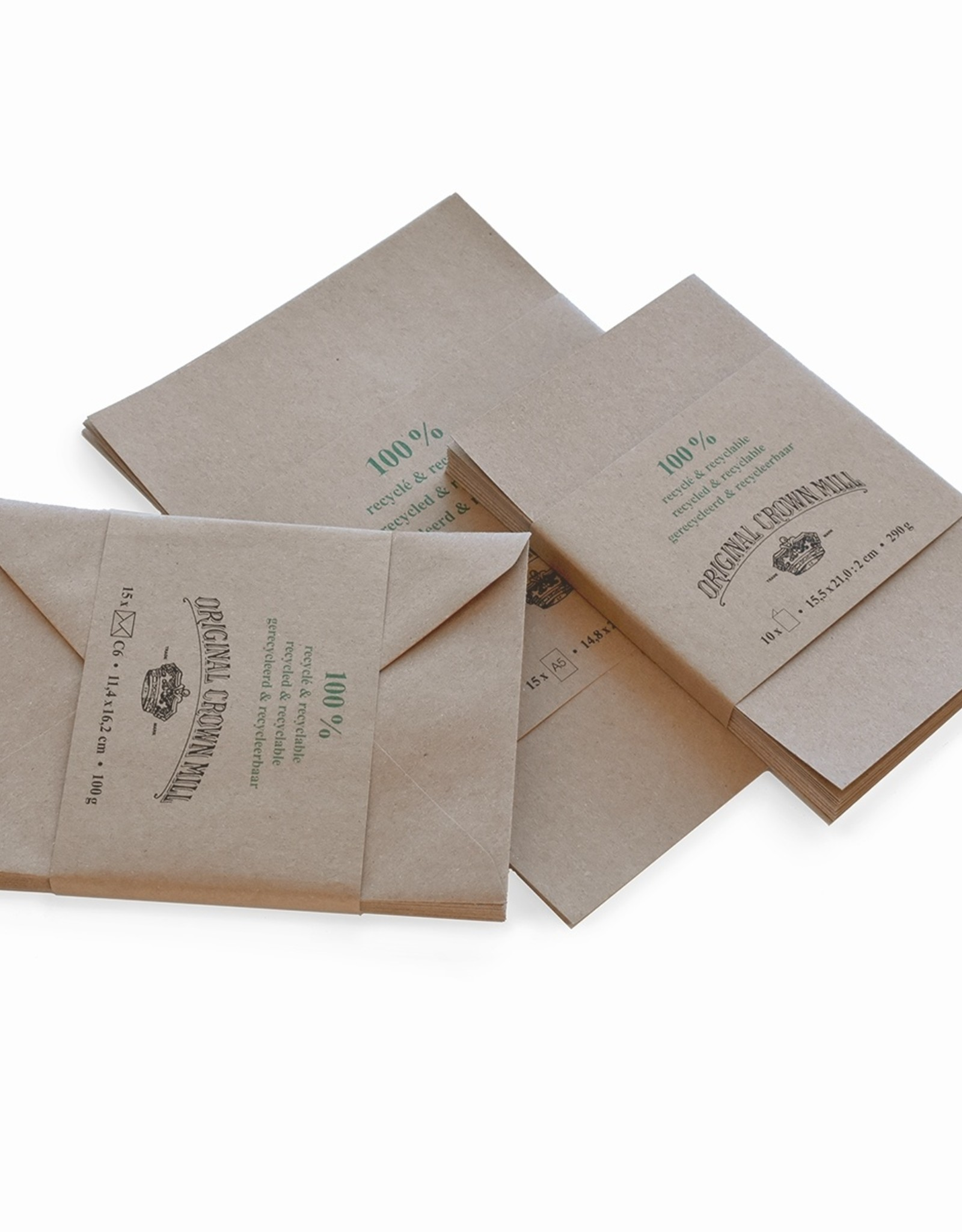 Original Crown Mill 100% Recycled Stationery