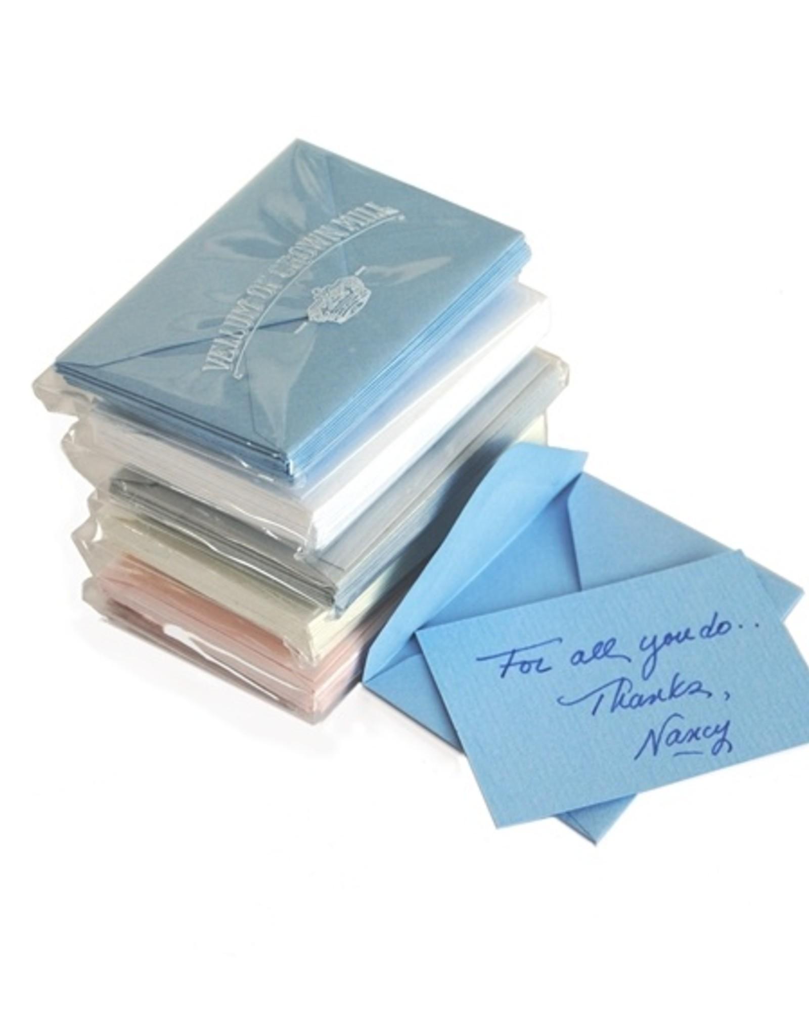 Original Crown Mill Classic Laid Mini Gift Card Sets