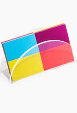 Poketo Poketo Lucite Card Holder