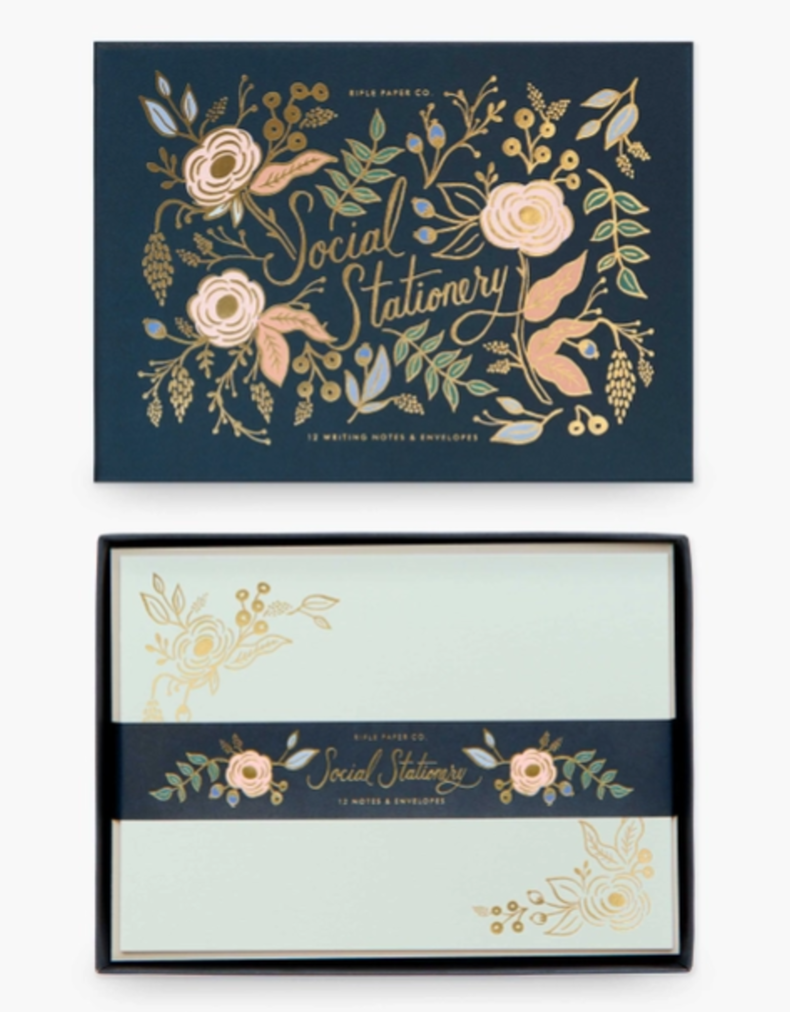 Rifle Paper Co. Rifle Paper Social Stationery Sets