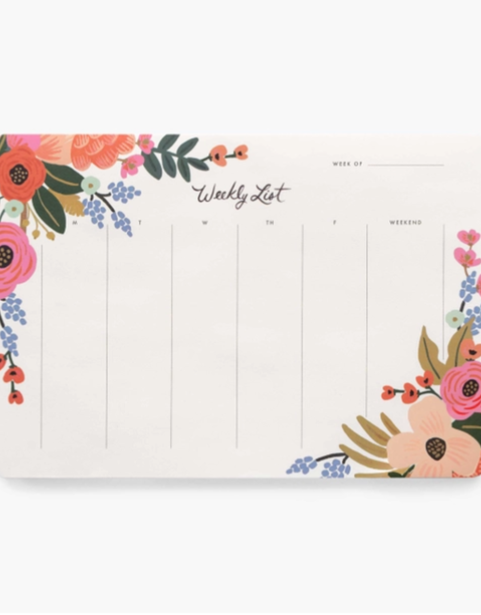 Rifle Paper Co. Rifle Paper Weekly Desk Pad