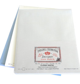 Original Crown Mill Classic Laid Business Sheet Package A4 8.5 x 11