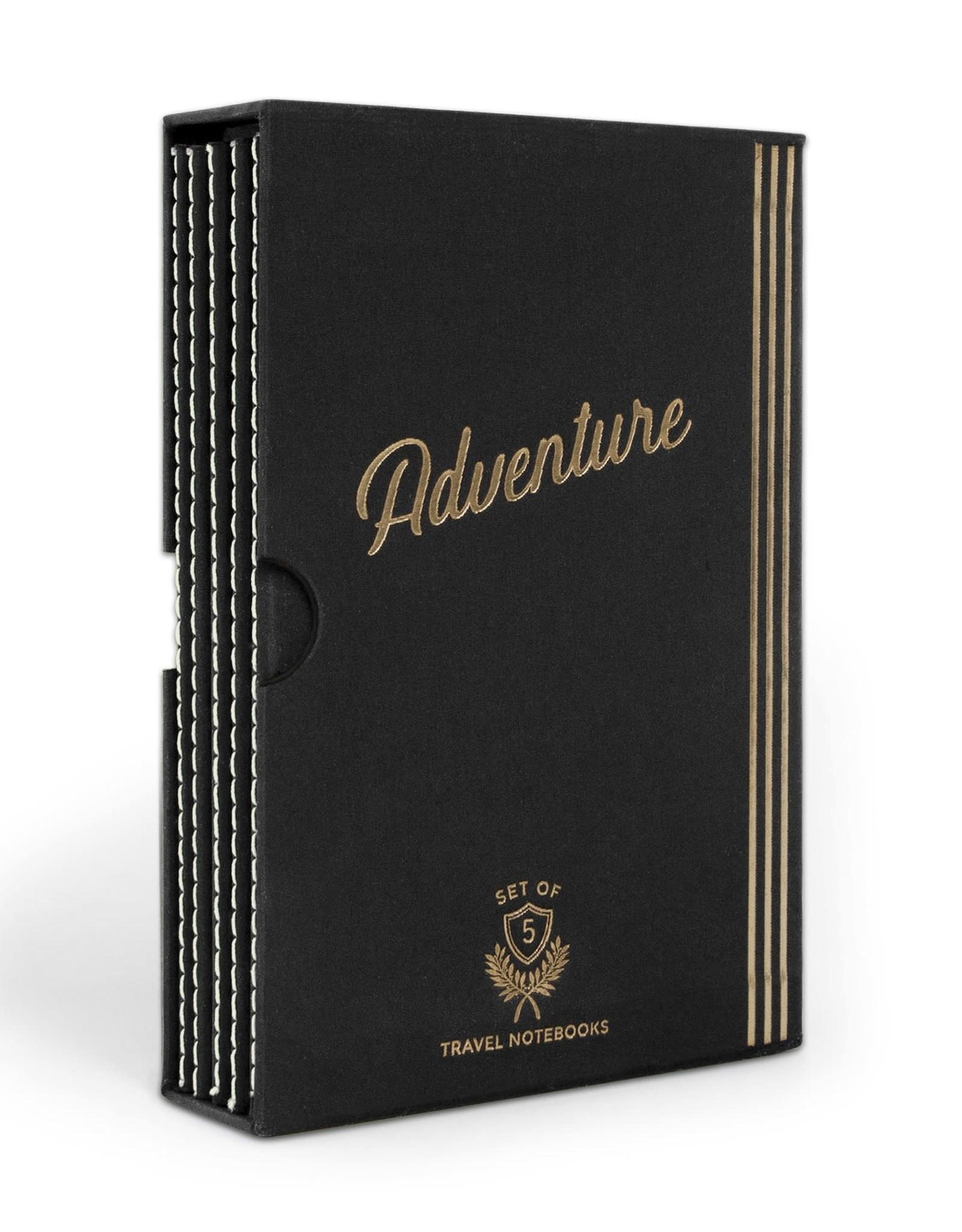 Designworks Ink Boxed Set of 5 Travel Journals