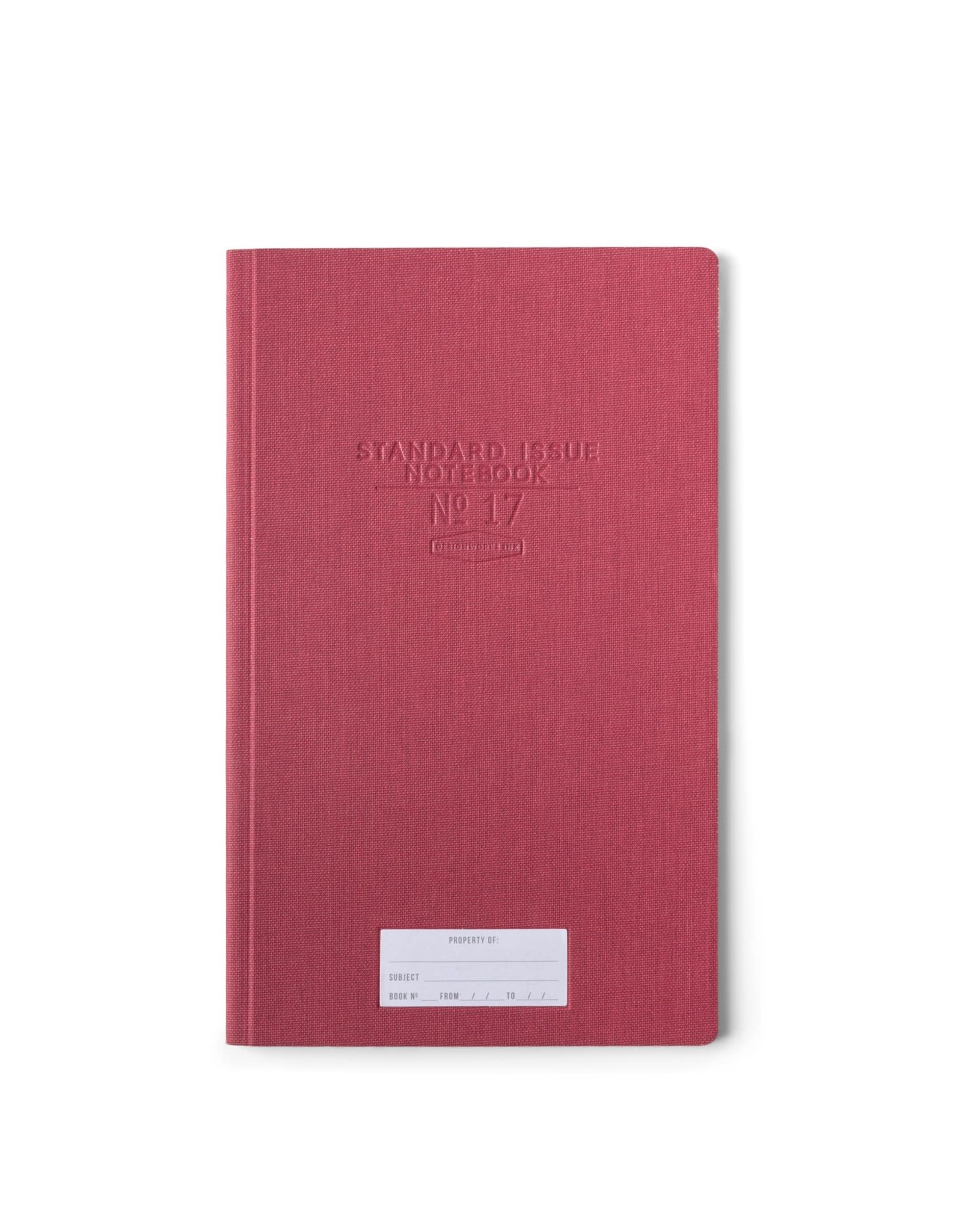 Designworks Ink Standard Issue Notebook No. 17