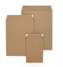 Paper Mart Kraft Self Seal Non-Bendable Mailers