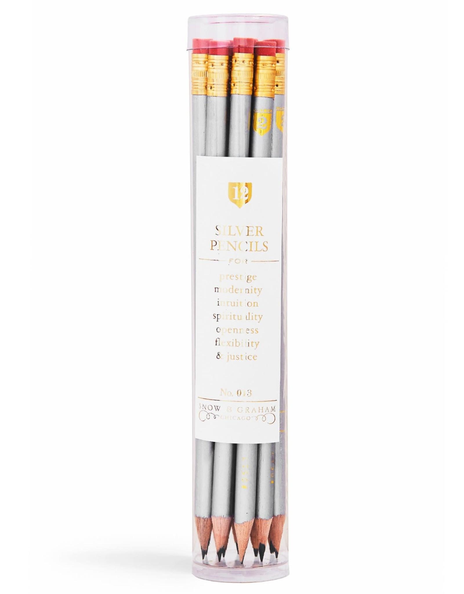 Snow & Graham Snow & Graham Pencil Set 12 pcs